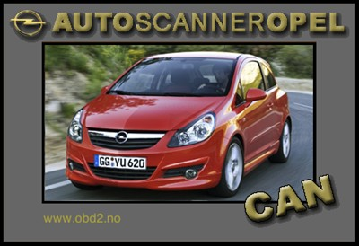 Opel Scanner Canbus-Usb